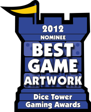2012 Best Game Artwork Nominee