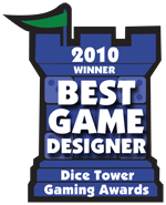 2010 Best New Game Designer Winner
