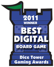 2011 Best Digital Board Game Winner