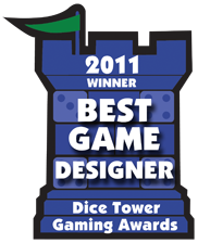 2011 Best New Game Designer Winner