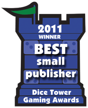 2011 Best Small Publisher Winner