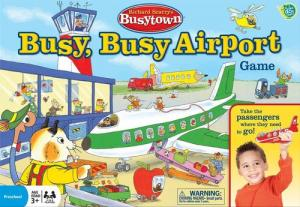 Richard Scarry's Busytown: Busy, Busy Airport Game