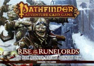 Pathfinder Adventure Card Game: Rise of the Runelords – The Hook Mountain Massacre Adventure Deck 3