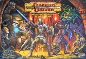 Dungeons & Dragons: The Fantasy Adventure Board Game