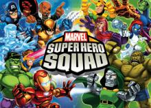 Super Hero Squad Card Game
