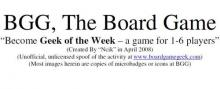 BGG: The Board Game