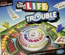 The Game of Life Pop-O-Matic Trouble Game