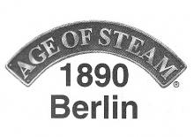 Age of Steam Expansion: 1890 Berlin