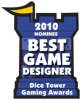 2010 Best New Game Designer Nominee