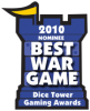 2010 Best War Game Nominee