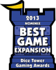 2013 Best Game Expansion Nominee