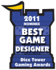 2011 Best New Game Designer Nominee