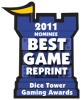 2011 Best Game Reprint Nominee