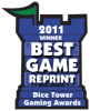 2011 Best Game Reprint Winner