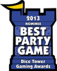 Best Party Game 2013 Nominee