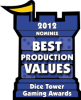 2012 Best Production Values Nominee