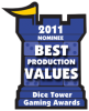 2011 Best Production Values Nominee
