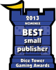 Best Small Publisher Nominee