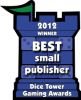 2012 Best Small Publisher Winner