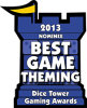2013 Best Game Theming Nominee
