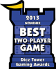 Best Two-Player Game 2013 Nominee